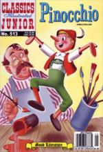 Pinocchio (Classics Illustrated Junior) by Carlo Collodi