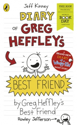 Cover for Diary of Greg Heffley's Best Friend: World Book Day 2019 by Jeff Kinney