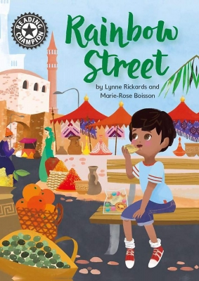 Cover for Reading Champion: Rainbow Street  by Lynne Rickards
