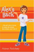 Cover for Alex's Back by Helena Pielichaty