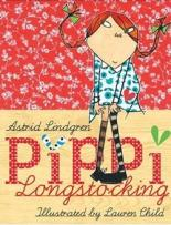 Pippi Longstocking Gift Edition with Limited Edition Prints by Astrid Lindgren