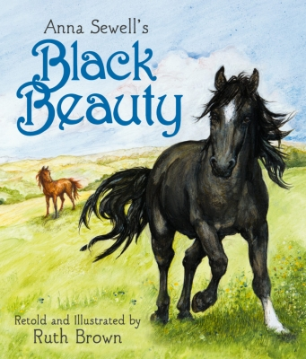Cover for Black Beauty by Ruth Brown