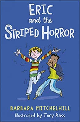 Cover for Eric and the Striped Horror by Barbara Mitchelhill