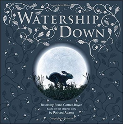 Cover for Watership Down Gift Picture Storybook by Frank Cottrell Boyce