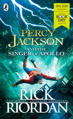 Cover for Percy Jackson and the Singer of Apollo by Rick Riordan