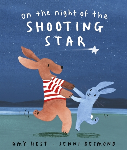 Cover for On the Night of the Shooting Star by Amy Hest