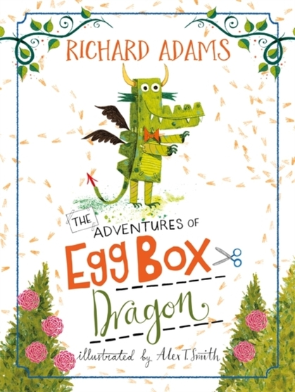 Cover for The Adventures of Egg Box Dragon by Richard Adams