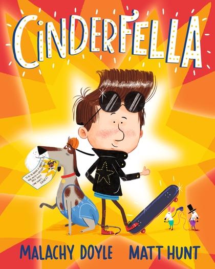 Cover for Cinderfella by Malachy Doyle