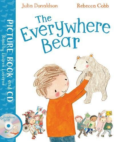 The Everywhere Bear Book and CD Pack