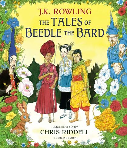 Cover for The Tales of Beedle the Bard Illustrated Edition by J.K. Rowling