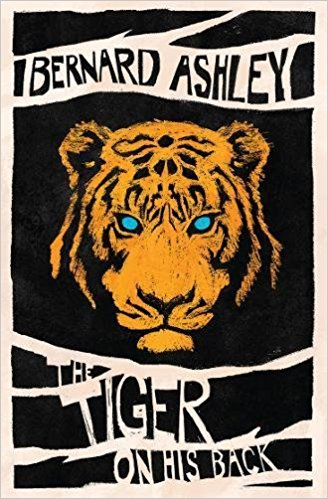 Cover for The Tiger on His Back by Bernard Ashley