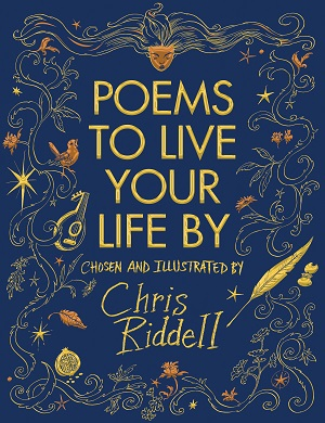 Cover for Poems to Live Your Life By by Chris Riddell