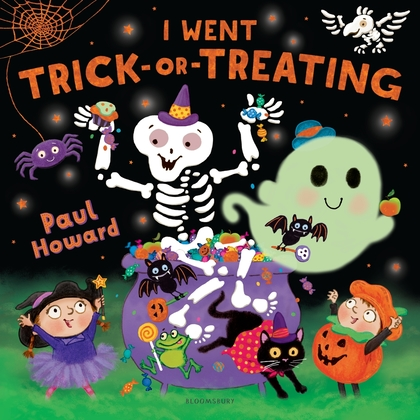 Cover for I Went Trick-or-Treating by Paul Howard