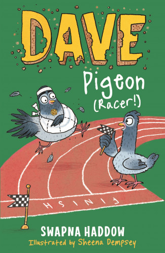 Cover for Dave Pigeon (Racer!) by Swapna Haddow