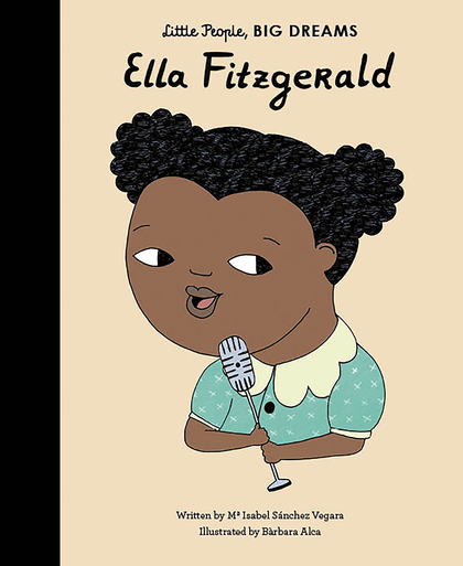Cover for Ella Fitzgerald by Isabel Sanchez Vegara