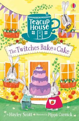 Cover for The Twitches Bake a Cake by Hayley Scott