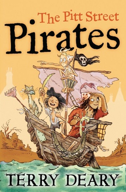 Pitt Street Pirates by Terry Deary