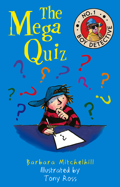 Cover for The Mega Quiz  by Barbara Mitchelhill