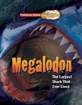 Cover for Megaladon Prehistoric Beasts Uncovered - The Largest Shark That Ever Lived by Dougal Dixon