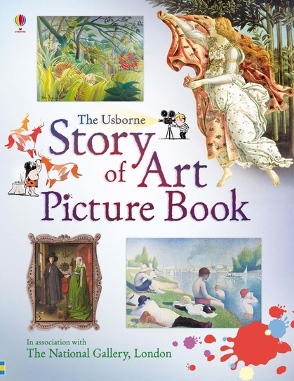 Story of Art Picture Book by Sarah Courtauld