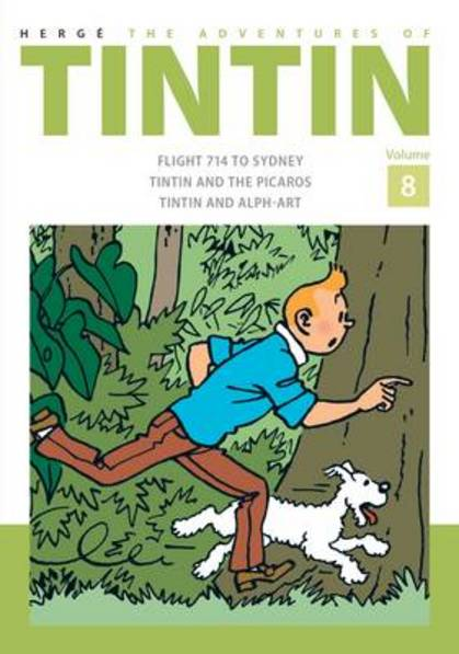 The Adventures of Tintin: Vol 8  by Herge