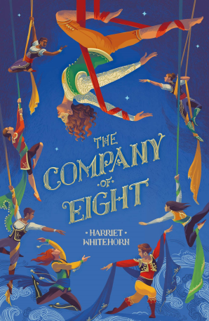 Cover for The Company of Eight by Harriet Whitehorn
