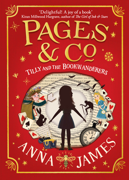 Cover for Pages & Co: Tilly and the Bookwanderers by Anna James
