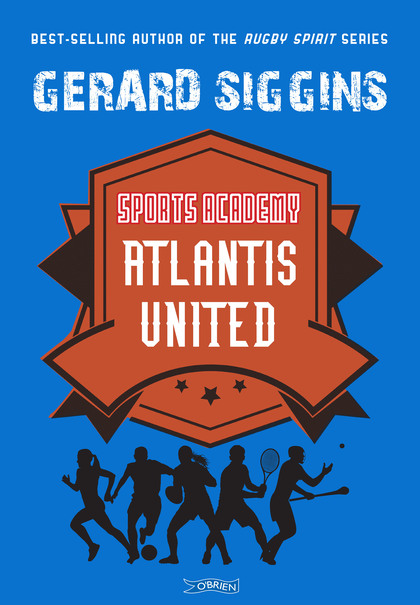 Cover for Atlantis United by Gerard Siggins