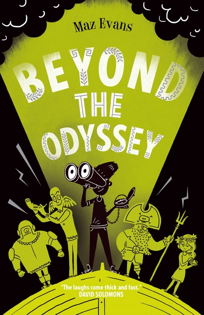 Cover for Beyond the Odyssey by Maz Evans