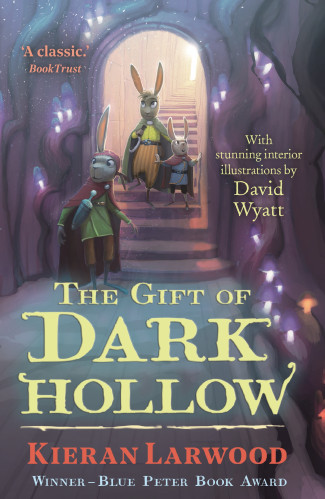 Cover for The Five Realms: The Gift of Dark Hollow by Kieran Larwood