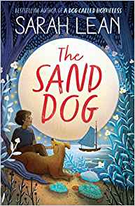 Book Cover for The Sand Dog by Sarah Lean