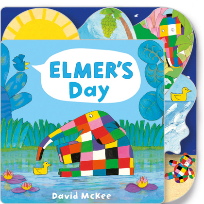 Cover for Elmer's Day  by David McKee