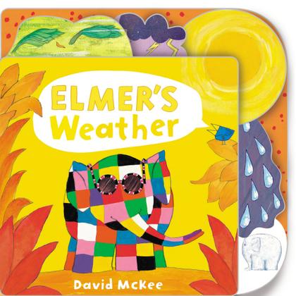 Elmer's Weather Tabbed Board Book
