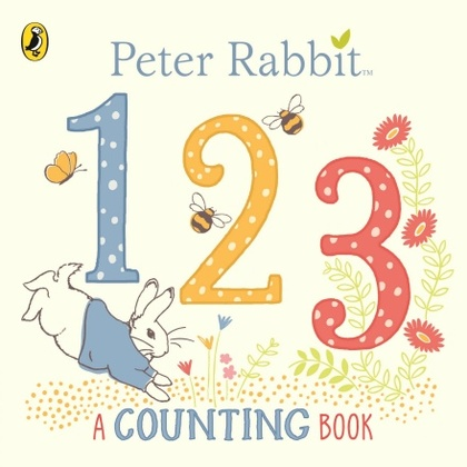 Cover for Peter Rabbit 123 A Counting Book by Beatrix Potter