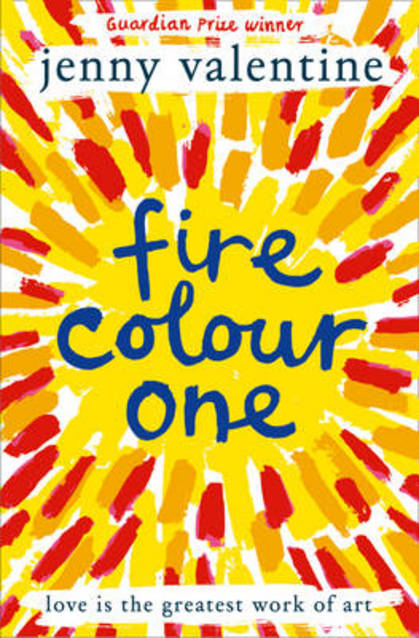 Fire Colour One by Jenny Valentine