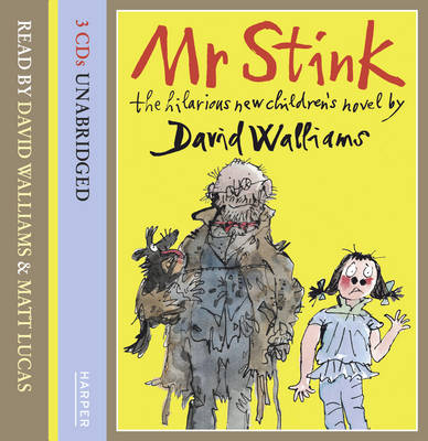 Mr Stink Cd-Audio by David Walliams