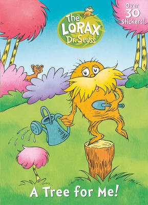 The Lorax Sticker Activity Book by Dr. Seuss