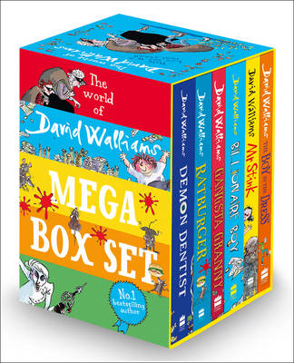 The World of David Walliams: 6-Book Mega Box-Set by David Walliams