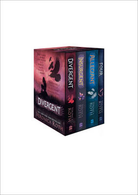 Cover for Divergent Series Box Set (Books 1-4) by Veronica Roth