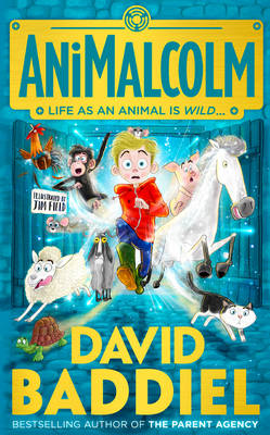 Cover for Animalcolm by David Baddiel