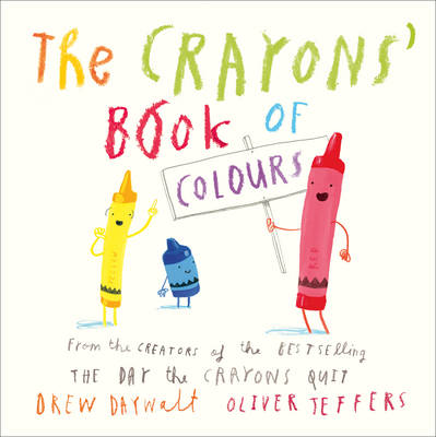 Cover for The Crayons' Book of Colours by Drew Daywalt