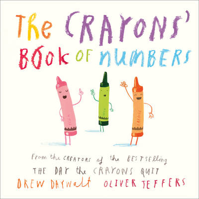 Cover for The Crayons' Book of Numbers by Drew Daywalt