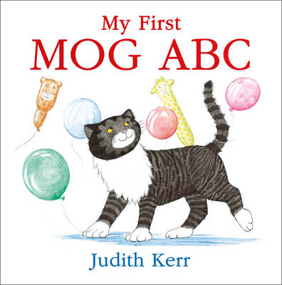 Cover for My First Mog ABC by Judith Kerr