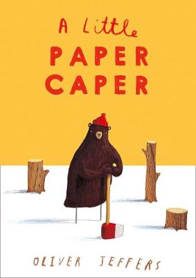 Cover for A Little Paper Caper by Oliver Jeffers