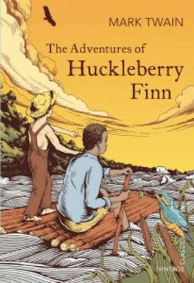 Cover for The Adventures of Huckleberry Finn by Mark Twain