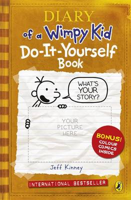 Diary of a wimpy kid do it yourself book by jeff kinney buy books diary of a wimpy kid do it yourself book by jeff kinney solutioingenieria Image collections