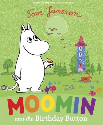 Cover for Moomin and the Birthday Button by Tove Jansson