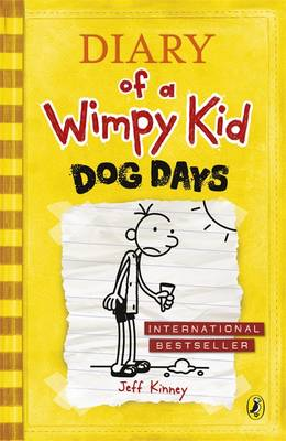 Diary of a Wimpy Kid 4: Dog Days by Jeff Kinney