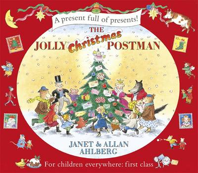 Cover for The Jolly Christmas Postman by Allan Ahlberg, Janet Ahlberg