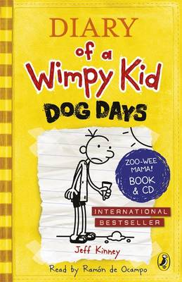 Diary of a Wimpy Kid: Dog Days (Book 4) by Jeff Kinney